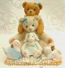 """Cherished Teddies Chrissy & Friends Large Bears 5"""" Tall Limited Edition of 5000"""