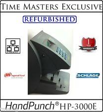 Ref. SCHLAGE BIOMETRIC HANDPUNCH HP 3000E w/AMG EMPLOYEE ATTENDANCE SOFTWARE!