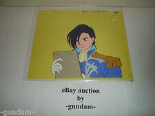 Gundam Wing anime production cel - Lucrezia Noin in Sanc Kingdom officer uniform