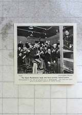 1906 The Garde Republicaine Band Playing Into A Phonograph