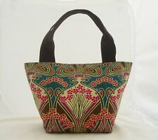 HANDMADE TOTE HANDBAG FROM VINTAGE LIBERTY OF LONDON IANTHE PATTERN FABRIC
