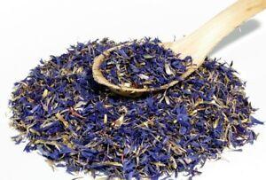 50 Gram Premium Dried Cornflower Blue Petals - Centaurea cyanus - Free Postage