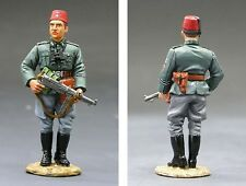 King and Country CF008 German Handschar N.C.O. Rare Retired and Sold Out New