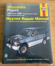 Haynes 68765 Manual for Mitsubishi Pajero NA to NJ models Petrol & Diesel