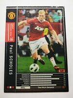 Panini 2010-11 WCCF IC carte card soccer Manchester United 093/352 Paul Scholes