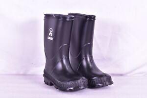 Toddler Boy's & Girl's Kamik Stomp Rubber Waterproof Rain Boots, Black, 9