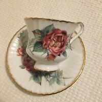 Paragon fine bone china tea cup & saucer Sarabande Collectable antique, queen