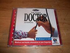 The Family Doctor 3rd Edition Reference CD ROM WIN 95 Guide To First Aid NEW