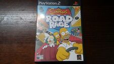 The Simpsons Road Rage (Sony Playstation 2, PS2) Car Racing Complete Hit And Run