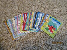 30 Sesame Street Flash Cards - Learning Words