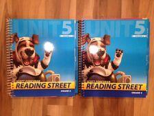 Scott Foresman READING STREET Grade 4, Unit 5 Teacher's Edition Volume 1 & 2 NEW