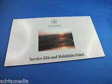 MERCEDES Benz cartella Service 24h bordo libro per bordo cartella w210 s210 e CLASSE TOP