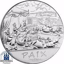 Frankreich 50 Euro Asterix beim Friedensbankett 2015 Silbermünze Stempelglanz