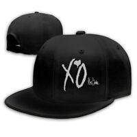 The Weeknd Xo Logo Snapback Baseball Hat Adjustable Cap