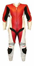 SWAG MOTORCYCLE LEATHER RACING SUIT ONE PIECE FULLY VENTED FOR COOL BIKE RIDERS