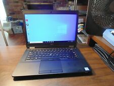 DELL LATITUDE E5470 Ultrabook 2.40GH i5 6300U 8GB 256GB SSD  #5975 Cam 1920X1080