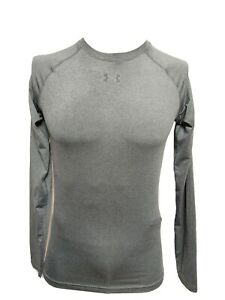 Under Armour Heat Gear compression MEN'S LARGE  Athletic  Long Sleeve T-SHIRT(N1