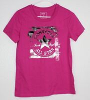 Converse Chuck Taylor All Star Classic Fit  Women's T- Shirt Size S Pink NWT