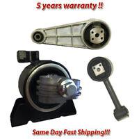 K867 Fit 04-10 Chevrolet Optra//Suzuki Forenza// Reno 2.0L Motor Mount Set 3PCS