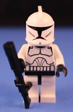 LEGO® STAR WARS™ 8014 Minifigure CLONE TROOPER + Custom DC-15 A Blaster Rifle!