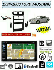 1994-2000 FORD MUSTANG DVD GPS TOUCHSCREEN BLUETOOTH USB AUX STEREO PKG