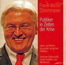 HÖRBUCH-CD NEU/OVP - Frank-Walter Steinmeier - Politiker in Zeiten der Krise