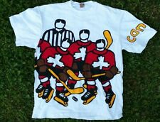 Vintage 1990's Marc Tetro Canada Hockey Shirt One size