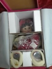 """Rare 15"""" holiday MARIE OSMOND Porcelain doll Baby Annette Holiday limited gift"""
