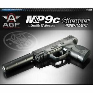 [Academy] 17228 M&P 9C Silencer AirsoftPistol BB ShotGun 6mm Hand Grips Toy