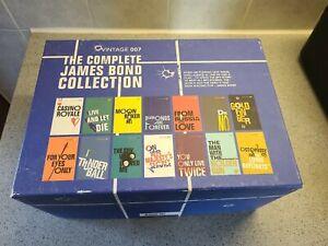 James bond 007 vintage Book Set   complete James bond collection