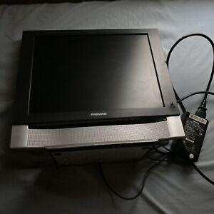 "Magnavox 15"" HDTV Computer Monitor Mini TV Television (15MF400T/37) + Power Cord"
