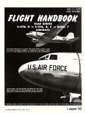 DOUGLAS C-47B FLIGHT HANDBOOK ( 1957 ) + CHECKLIST ( 1968 )