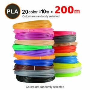 3D Pen Filament Refills, 24 Colors 393 Feet for 3D Printer Filament PLA 5/10M