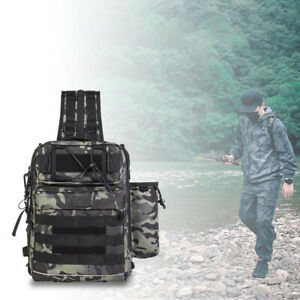 Spiderwire Fishing Tackle Backpack Medium Utility Boxes Camouflage 26* 36* 19cm