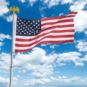 3x5ft US American Flag Heavy Duty Stars Sewn Stripes Grommets 210D Oxford USA