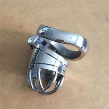 Stainless Steel CB6000S  Bend The Cage NEW Male Chastity Belt Devices Lock 45mm