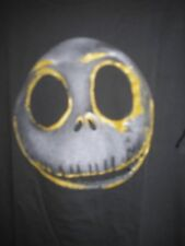 XL Jack Skellington Gold Face Disney Store Tee Shirt NWT