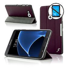 Leather Purple Folding Smart Case Samsung Galaxy Tab A 7.0 Screen Prot & Stylus