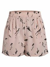 Pieces Printed Shorts Rose Size UK XS DH077 LL 10
