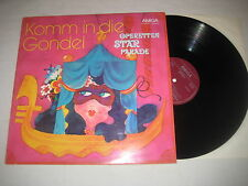 Komm in die Gondel - Operettenstarparade 1   Vinyl  LP Amiga 1973