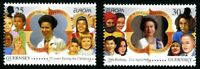 GUERNSEY 1996 FAMOUS WOMEN SET OF BOTH COMMEMORATIVE STAMPS MNH (H)