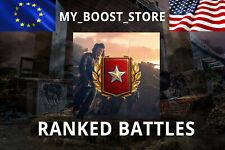 World Of Tanks(WOT) RANKED BATTLES 2019 | First Division + GOLD (not bonus code)