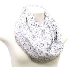 Math infinity scarf birthday gift for her anniversary for engineer teacher nerd