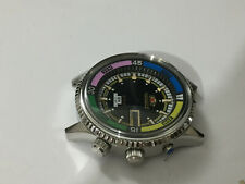 ORIENT SK 21J JUMBO DIVERS MENS COMPLETE WATCH KIT.N.O.S.RARE.BLACK DIAL