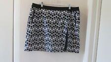 Nwot Nivo Women's Multicolor Golf Casual Skirt Skort 16