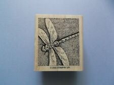 STAMPIN' UP RUBBER STAMPS DRAGONFLY  NEW wood STAMP