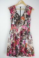 PORTMANS SIGNATURE floral fit and flare dress Sz 8