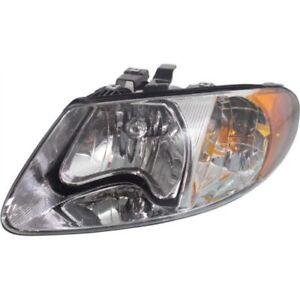 New Driver Side Headlight, Clear Lens For Grand Caravan 2001-2007