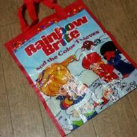 Rainbow Brite Tote bag 10 x 13 inches
