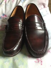Mens Timberland Brown Leather Slip On Casual Shoes UK Size  10